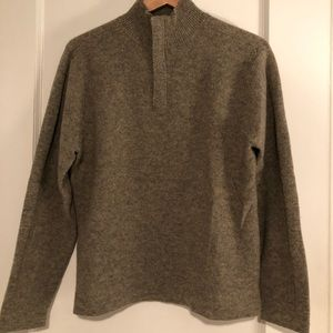 GAP Sweaters - Men's GAP Lambs Wool 1/2 Zip Sweater